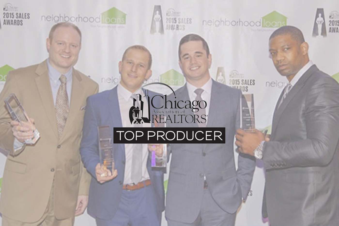 CommercialForum a division of Chicago Association of Realtors® (C.A.R.) Recognizes CRER Brokers as Top Chicago Commercial Producers in 2015