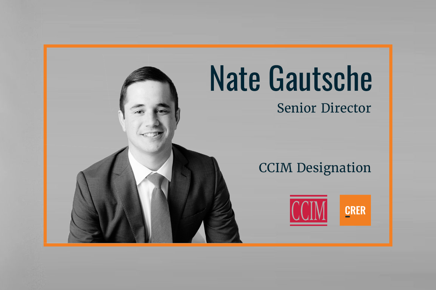Nate Gautsche Becomes a Member of CCIM