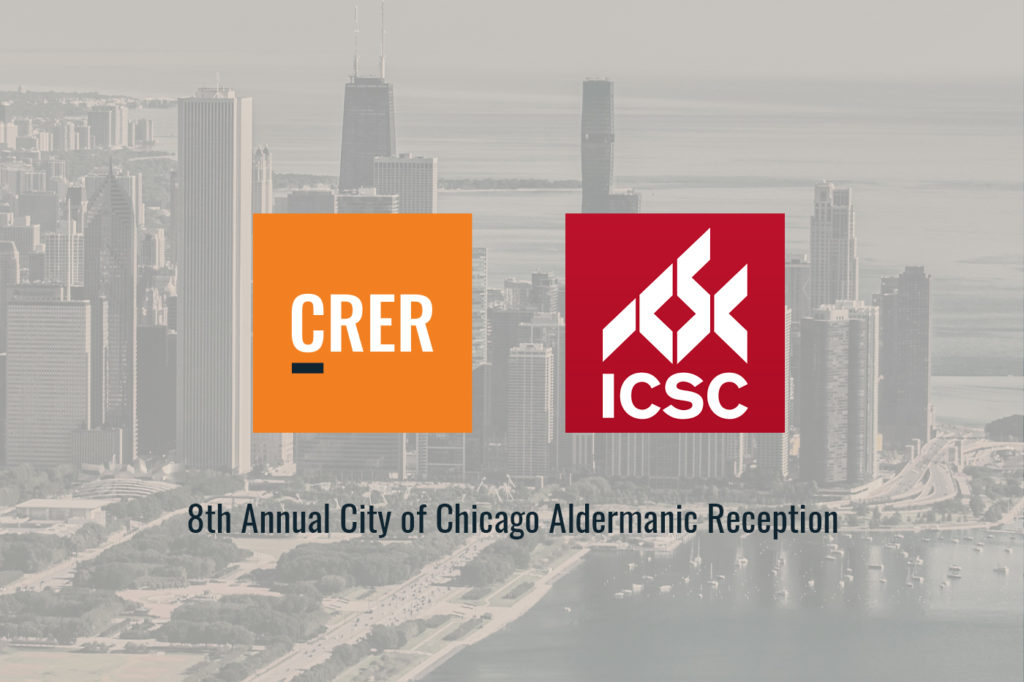 CRER sponsors ICSC Chicago Illinois Government Relations Cocktail Reception