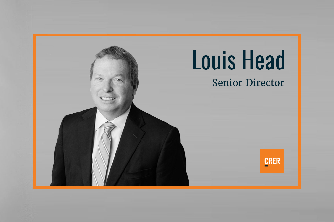 Louis Head Joins CRER