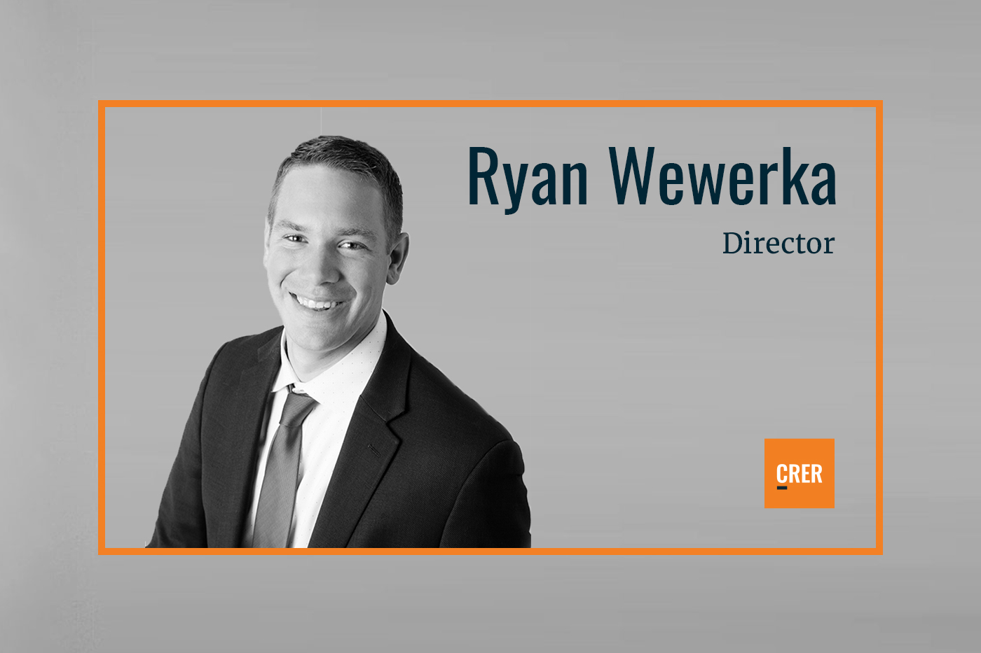 Ryan Wewerka Joins CRER